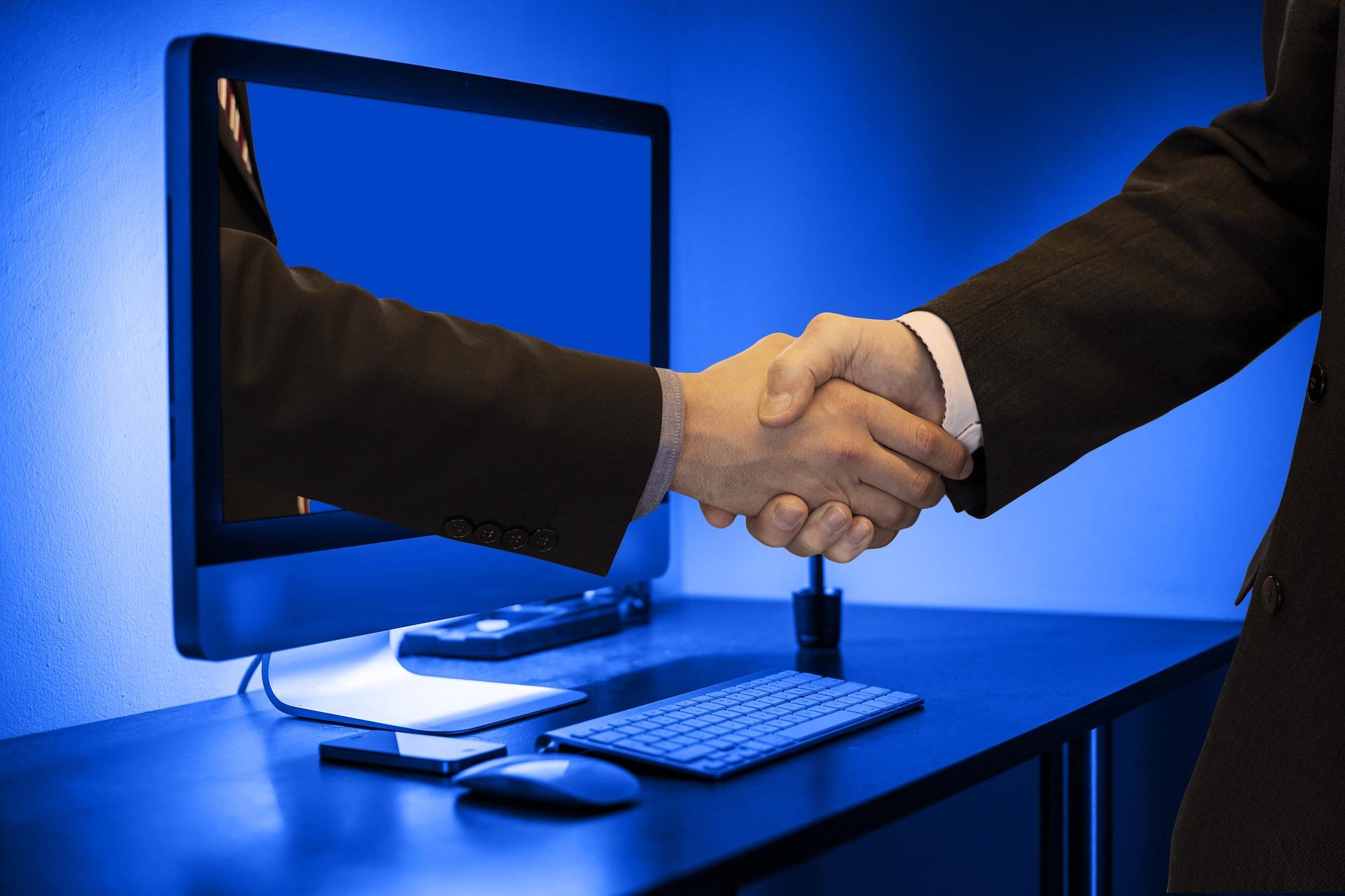 online-handshake